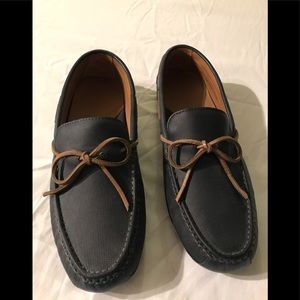 Cole Haan Navy Slip-on Loafer Shoes - Size 11.5